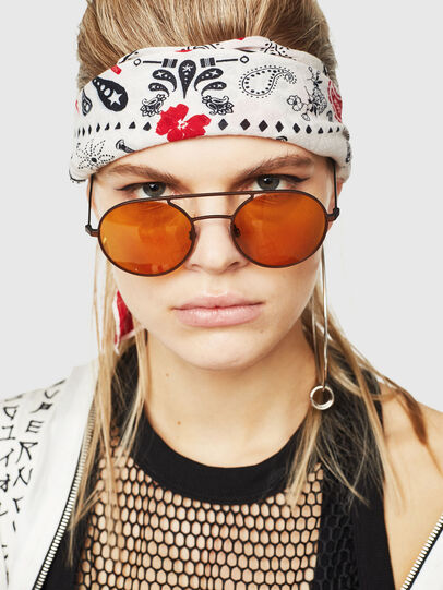 Diesel - DL0301, Orange/Black - Sunglasses - Image 6