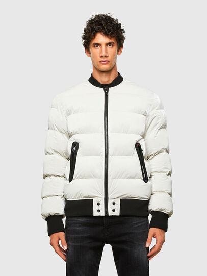Diesel - W-ON-A, White - Winter Jackets - Image 1