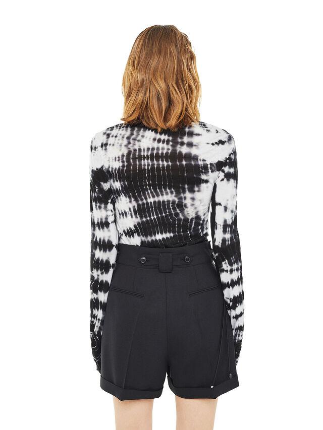 Diesel - TIAMI, White/Black - T-Shirts - Image 2