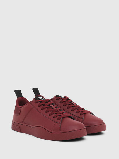 Diesel - S-CLEVER LOW LACE, Bordeaux - Sneakers - Image 2