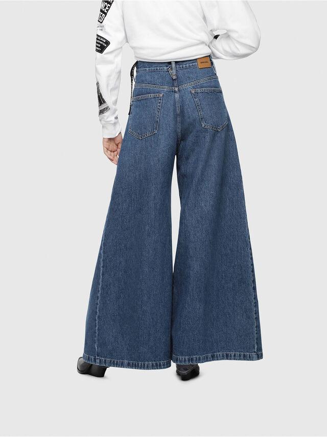 Diesel - D-Izzier 080AQ, Medium blue - Jeans - Image 2