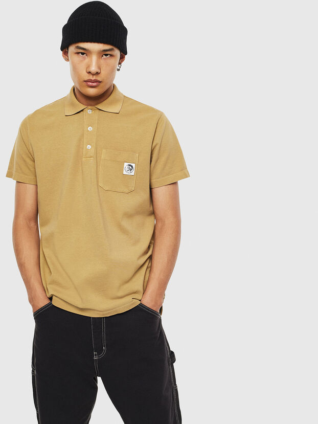 T-POLO-WORKY, Beige - Polos