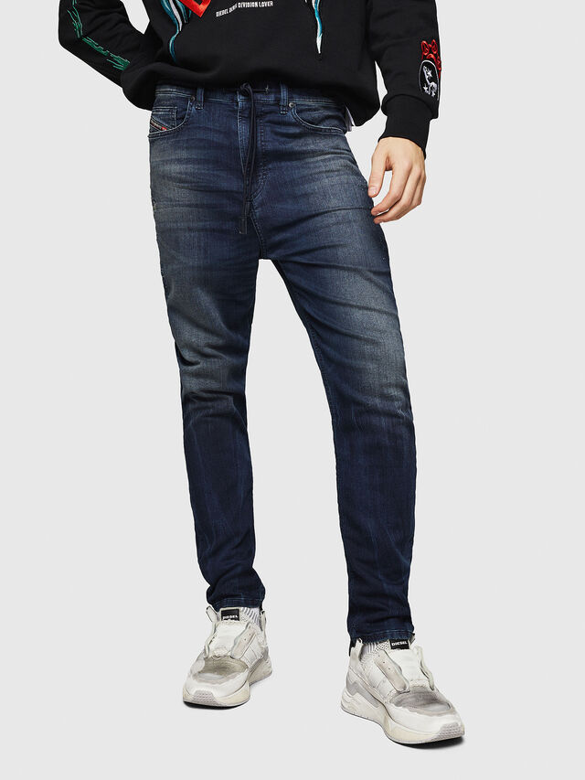 Diesel - D-Vider JoggJeans 069HV, Medium blue - Jeans - Image 1