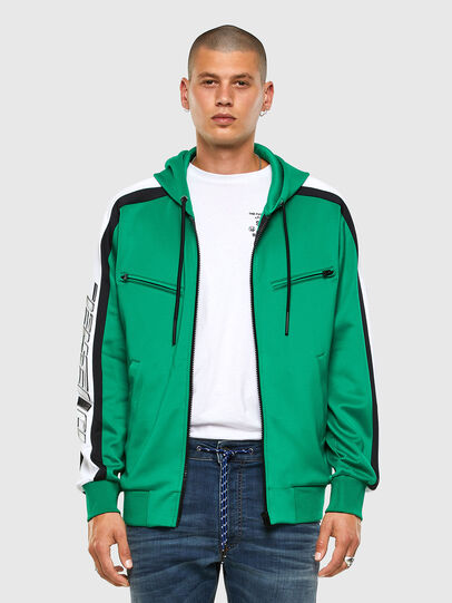 Diesel - S-STEEL, Green - Sweaters - Image 6