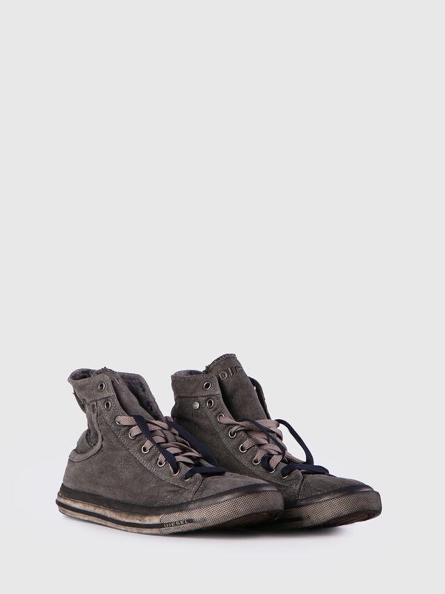 Diesel EXPOSURE I, Metal Grey - Sneakers - Image 2