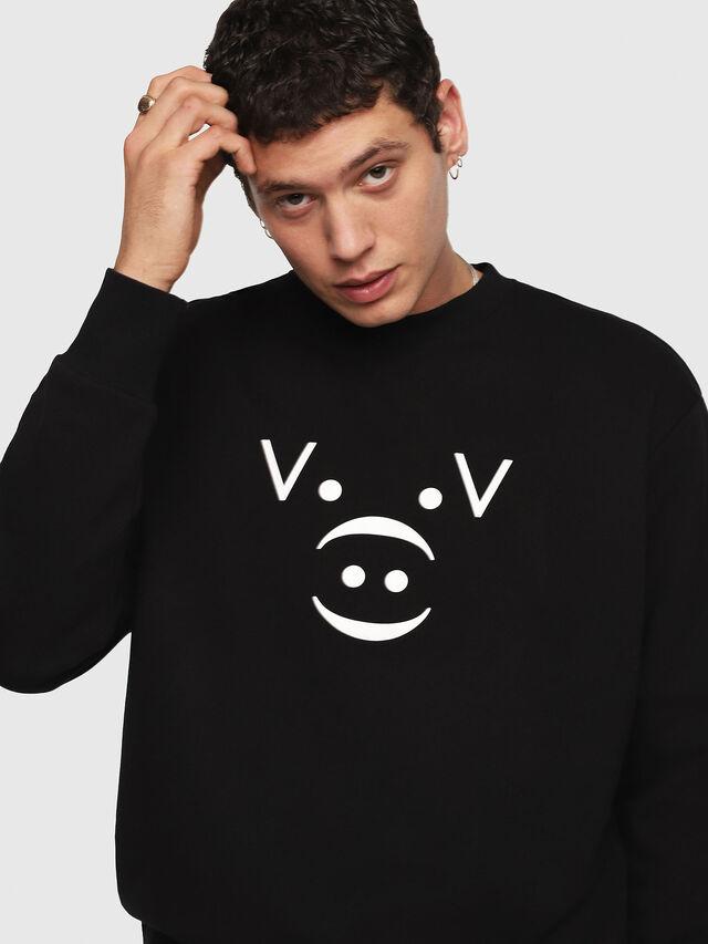 Diesel - CL-SNOR, Black - Sweaters - Image 5