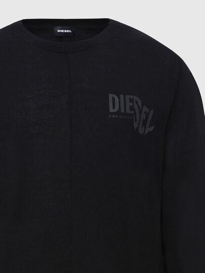 Diesel - K-HUGH, Black - Knitwear - Image 3