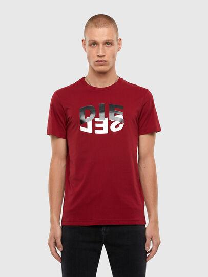 Diesel - T-DIEGOS-N22, Brown - T-Shirts - Image 1