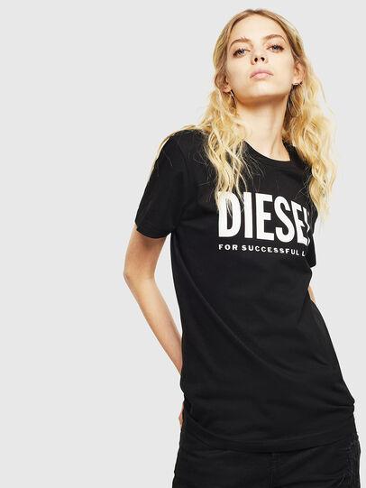 Diesel - T-DIEGO-LOGO, Black - T-Shirts - Image 2
