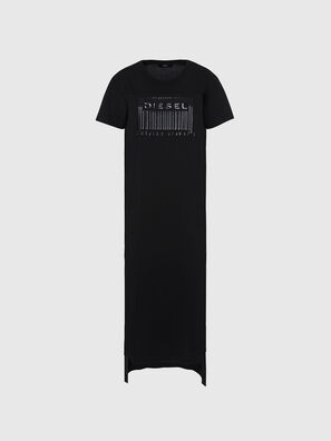 D-FELIX-LONG-E1, Black - Dresses