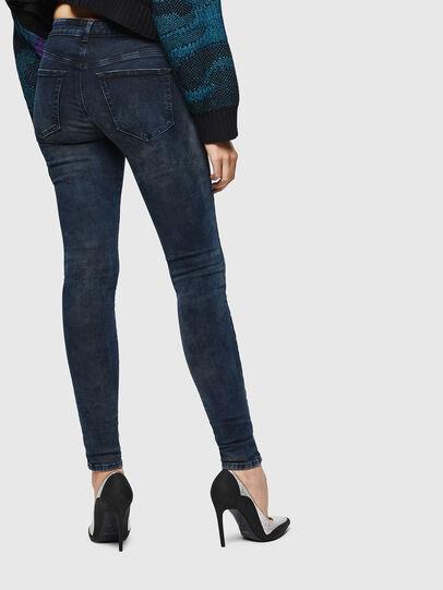 Diesel - Slandy 0091X, Dark Blue - Jeans - Image 2