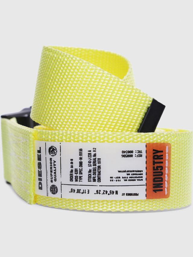 Diesel - B-ONAVIGO, Yellow Fluo - Belts - Image 2