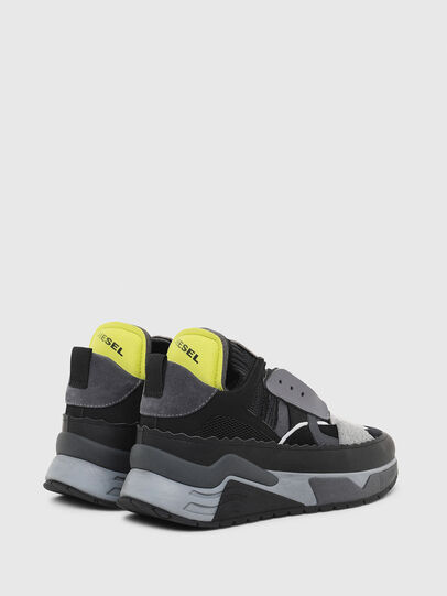 Diesel - S-BRENTHA DEC, Black/Grey - Sneakers - Image 3