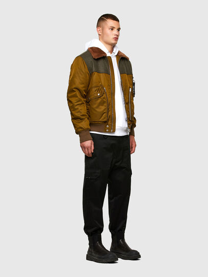 Diesel - W-LOUIS, Dark Green - Winter Jackets - Image 6