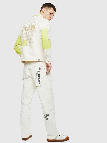 Diesel - NHILL-SP, White - Denim Jackets - Image 4