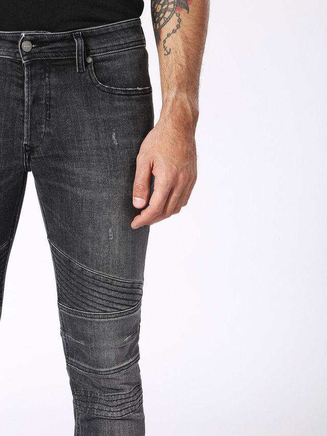 Diesel - Fourk 084NQ, Black/Dark grey - Jeans - Image 7