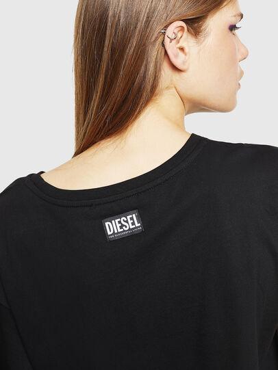 Diesel - T-JACKY-J, Black - Tops - Image 4