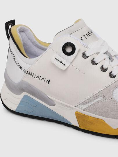 Diesel - S-BRENTHA LC, White - Sneakers - Image 4