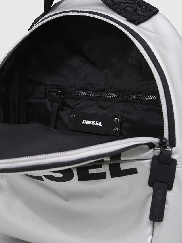 Diesel - F-BOLD BACK FL, Silver - Backpacks - Image 3