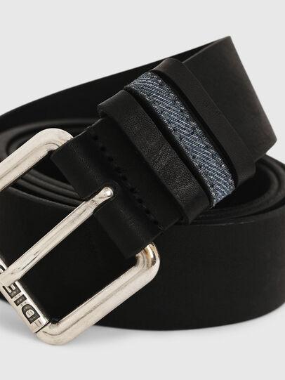 Diesel - B-DENOOP, Black - Belts - Image 2