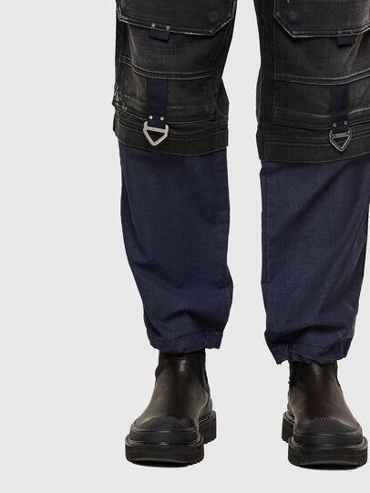 Diesel - D-Multy 009KX, Black/Blue - Jeans - Image 8