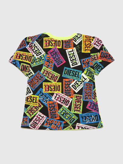 Diesel - TAIRB, Green Fluo - T-shirts and Tops - Image 2