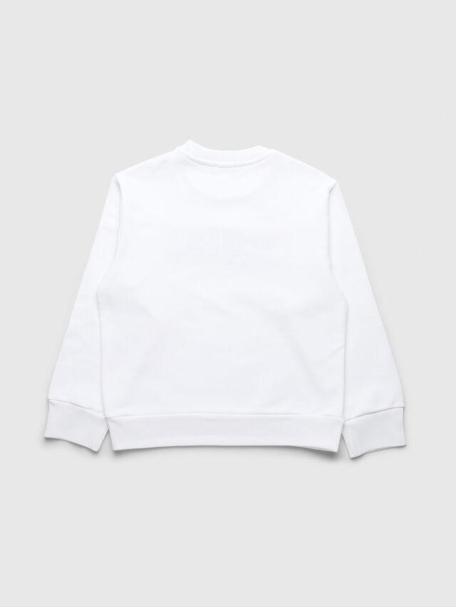 Diesel - UN-K-SCREWDIVISION-A, White - Sweaters - Image 2