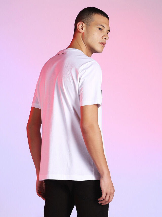 Diesel - LU-T-JUST, White - T-Shirts - Image 2