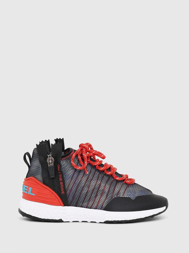 Diesel - SN MID 11 S-K YO, Blue/Red - Footwear - Image 1