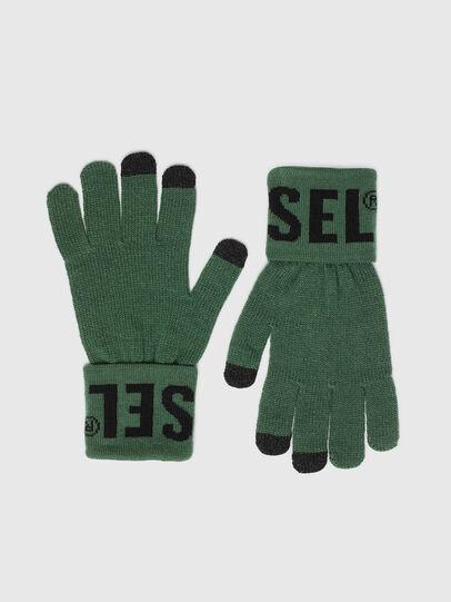 Diesel - K-SCREEX-B, Dark Green - Gloves - Image 1