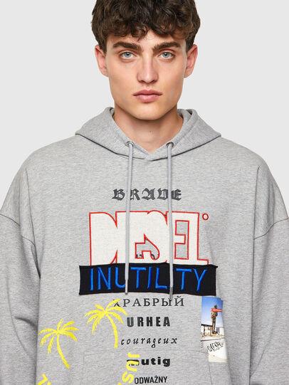 Diesel - S-UMMER-B4, Grey - Sweaters - Image 3