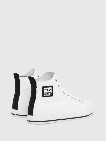Diesel - S-ASTICO MID CUT, White - Sneakers - Image 3