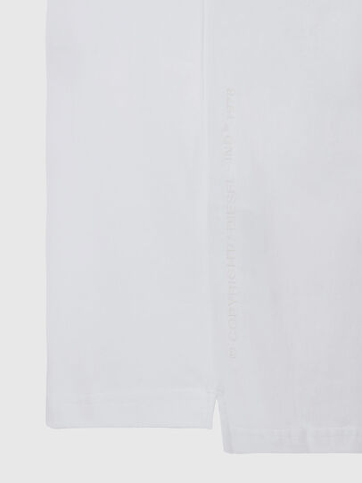 Diesel - T-JUST-SLITS-X81, White - T-Shirts - Image 5