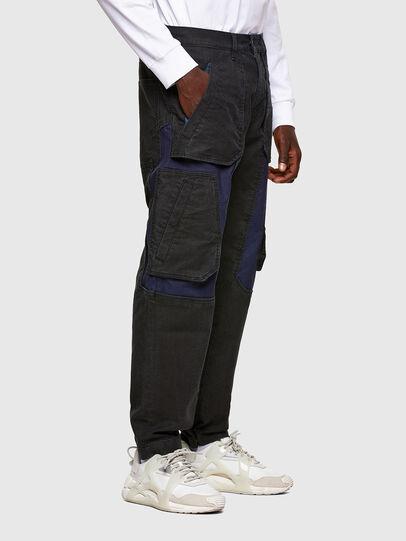 Diesel - D-Eluxerr JoggJeans® 0DDAV, Black/Dark grey - Jeans - Image 2