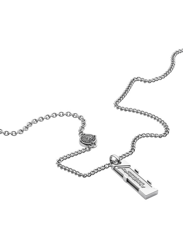 NECKLACE DX1036, Silver