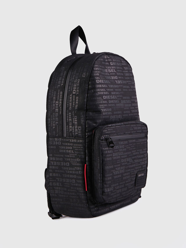 Diesel F-DISCOVER BACK, Black/Red - Backpacks - Image 2