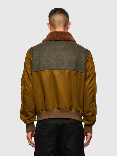 Diesel - W-LOUIS, Dark Green - Winter Jackets - Image 2