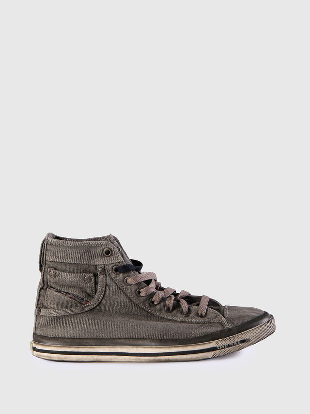 Diesel - EXPOSURE IV W, Grey Jeans - Sneakers - Image 1
