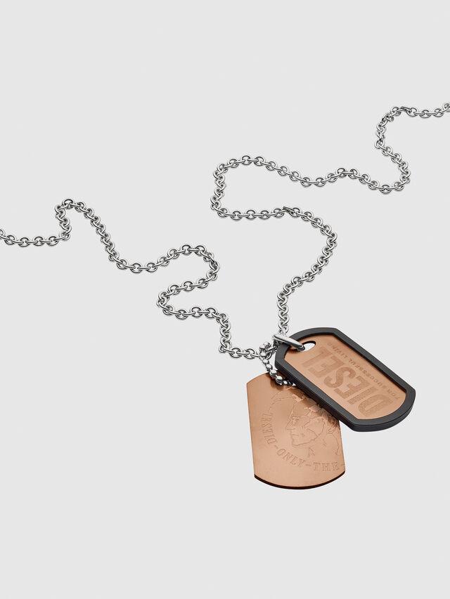 NECKLACE DX1096, Bronze