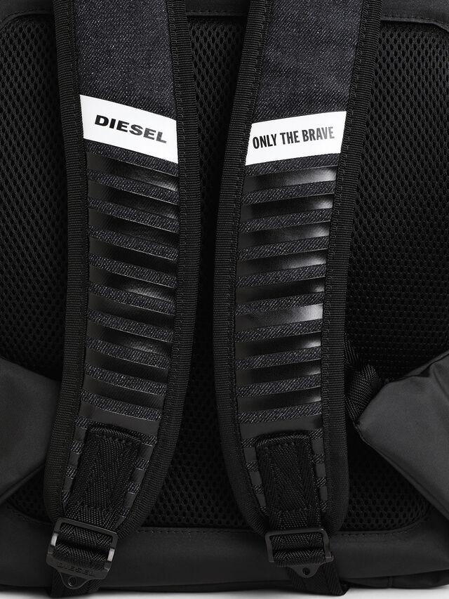 Diesel - D-SUBTORYAL BACK, Blue Jeans - Backpacks - Image 6
