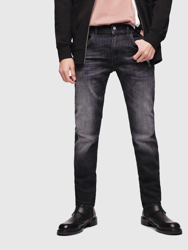 Diesel - Thommer 087AM, Black/Dark grey - Jeans - Image 1