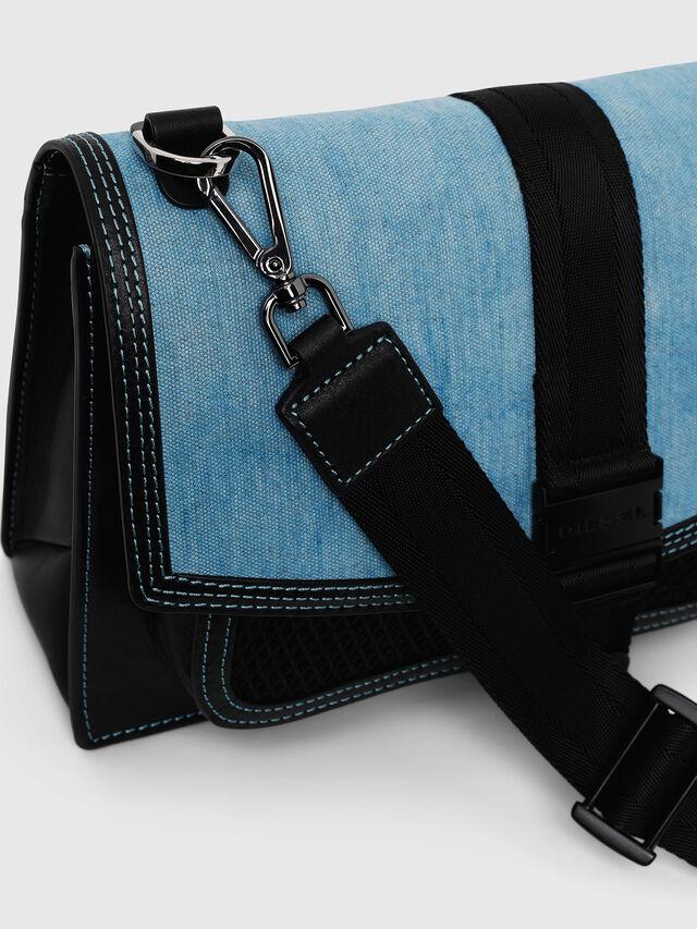 Diesel - MISS-MATCH CROSSBODY, Black/Blue - Crossbody Bags - Image 3