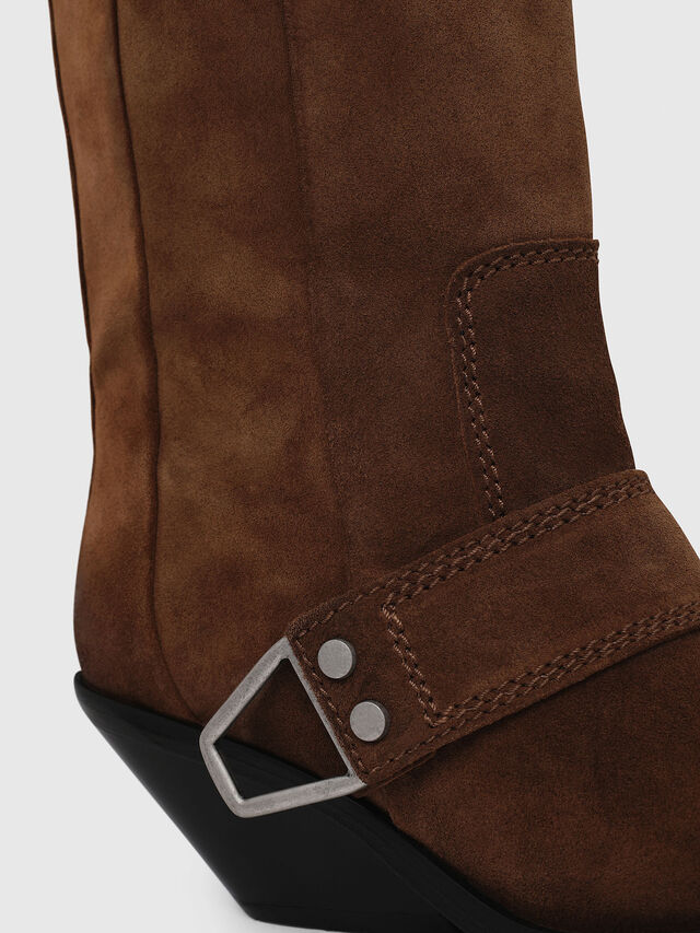 Diesel - D-GIUDECCA MB, Brown - Boots - Image 4