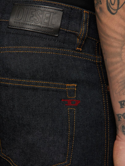 Diesel - D-Strukt 009HF, Dark Blue - Jeans - Image 4