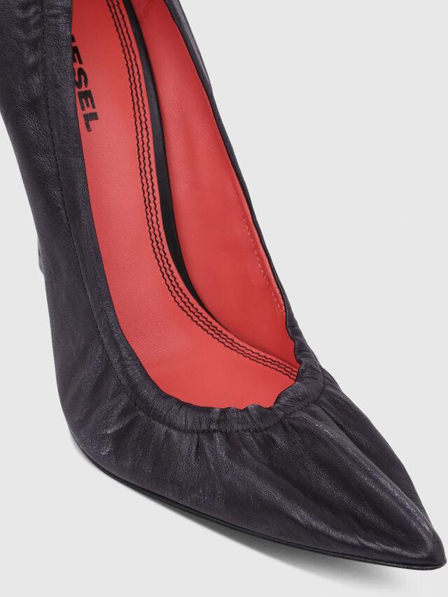 Diesel - D-SLANTY HPW, Black - Heels - Image 4