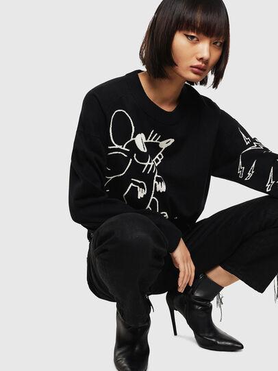 Diesel - CL-M-TESS, Black - Knitwear - Image 5