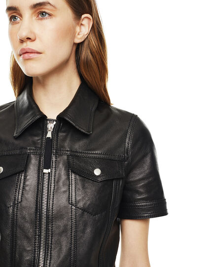 Diesel - DAFFIE,  - Leather dresses - Image 4