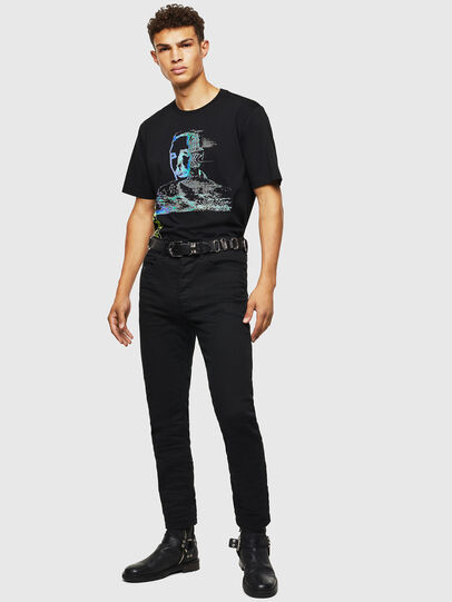 Diesel - T-JUST-J12, Black - T-Shirts - Image 5