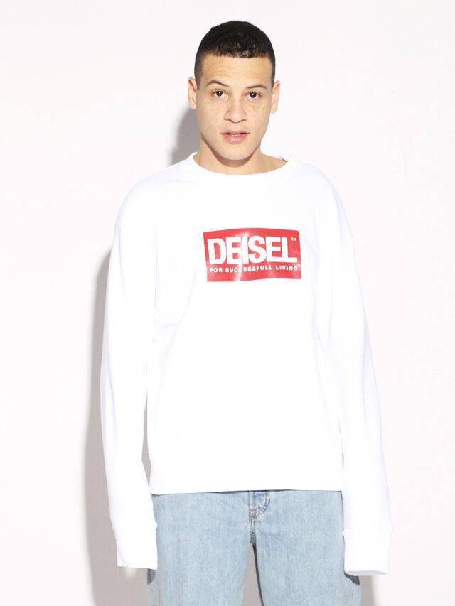Diesel - DEIS-SGIRO, White - Sweaters - Image 5