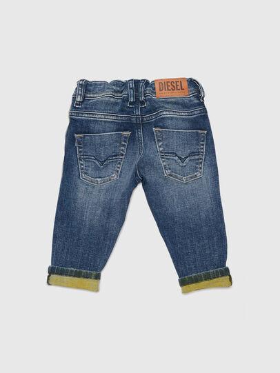 Diesel - KROOLEY JOGGJEANS-B-N, Blue/Yellow - Jeans - Image 2